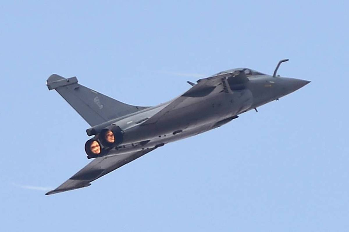 The newly inducted Rafale fighter jet displayed its ability at the celebrations.